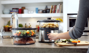 Cooking in a steamer for weight loss